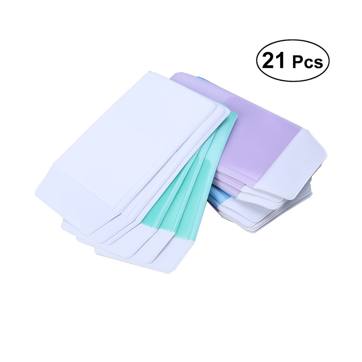 YeahiBaby 21PCS Pocket Protector for Pen Leaks for School Hospital Office (Assorted Color)