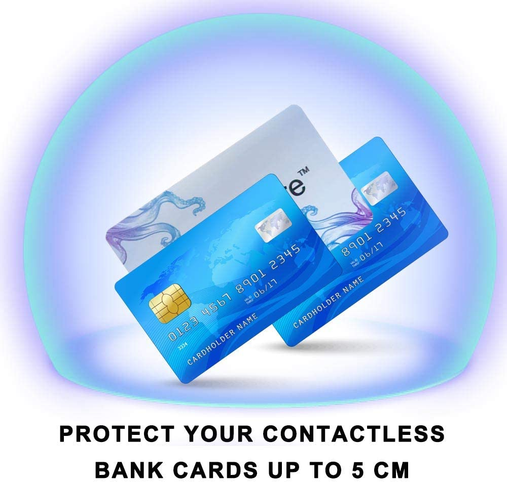 E-SDS 2 RFID Blocking Card Web Camera and Unwanti Data Transmission 3 Webcam Cover 6 Pack Personnal Privacy Data Protector Kits Keep Your Privacy Safe from Credit Cards 1 USB Data Blocker