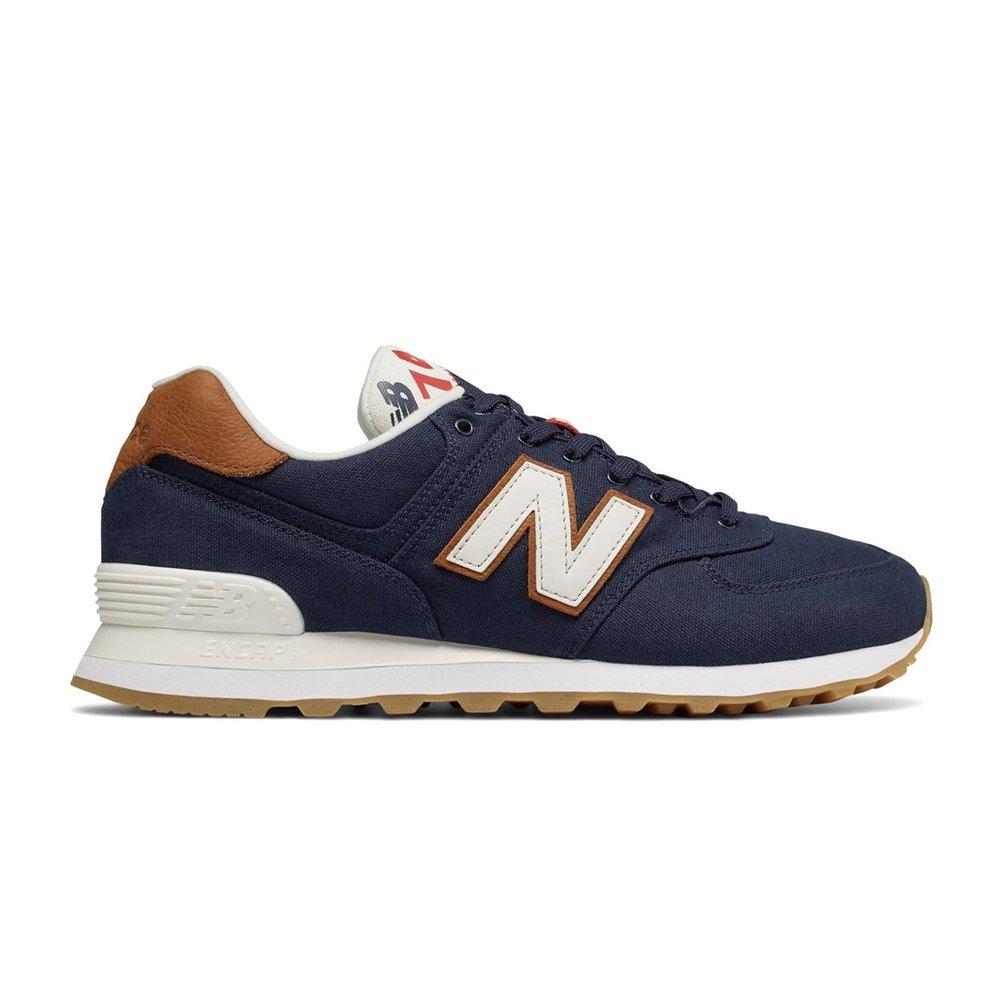 New Balance Scarpe Uomo 574 Traditionnels ML574YLC  Amazon.co.uk  Shoes    Bags be583e3045d