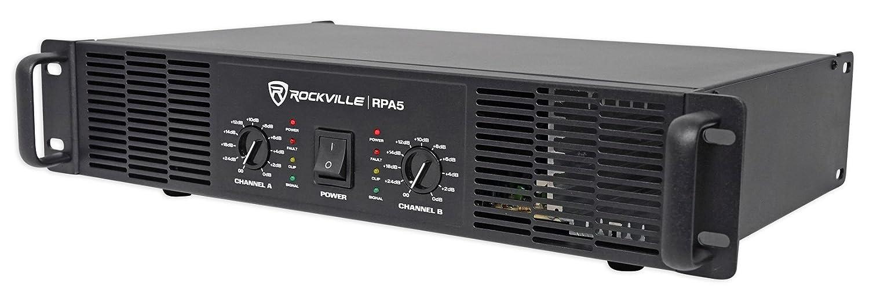 800w RMS 2 Channel Power Amplifier Pro//DJ Amp Rockville RPA9 3000 Watt Peak