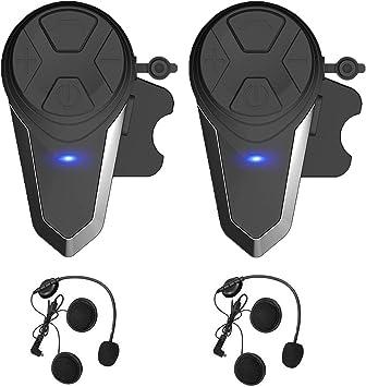 Bluetooth Intercom Motorcycle Bluetooth Headset Helmet Headphone Riders Intercom