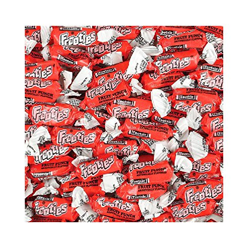 Bargain World Tootsie Frooties Fruit Punch (with Sticky Notes)