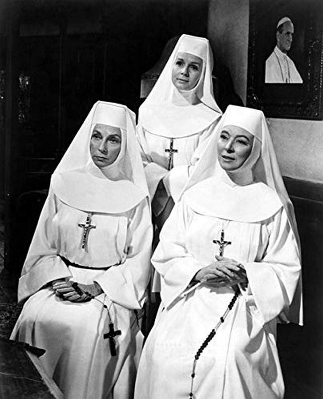 Amazon.com: The Singing Nun Agnes Moorehead Debbie Reynolds Greer Garson  1966 Movie Poster Masterprint (24 x 36): Posters & Prints