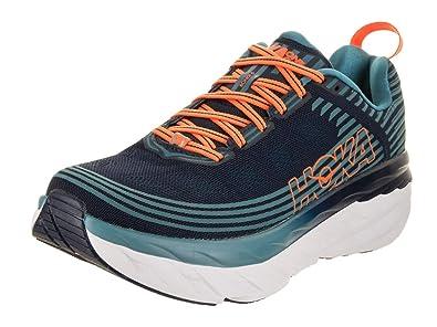 on sale 5a4ad 4ec83 HOKA ONE ONE Men's Bondi 6 Running Shoe Black Iris/Storm Blue Size 12 M US