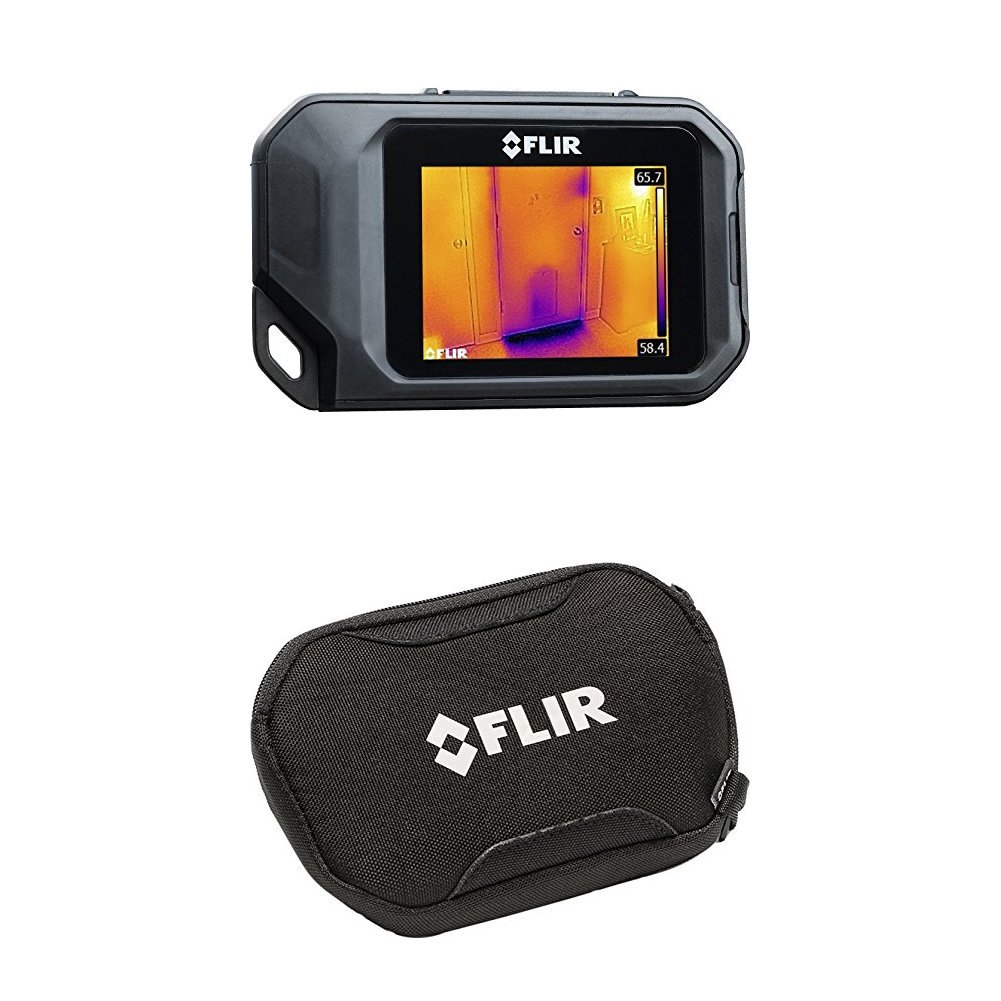 FLIR C2 Compact Thermal Imaging System with CX Series Pouch Case