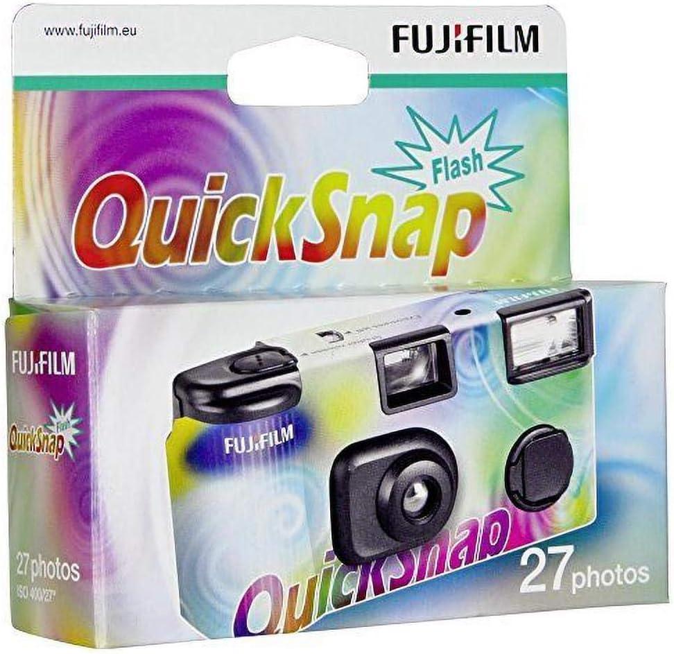 Fujifilm Quicksnap Vv Ec Flash Einwegkamera Kamera