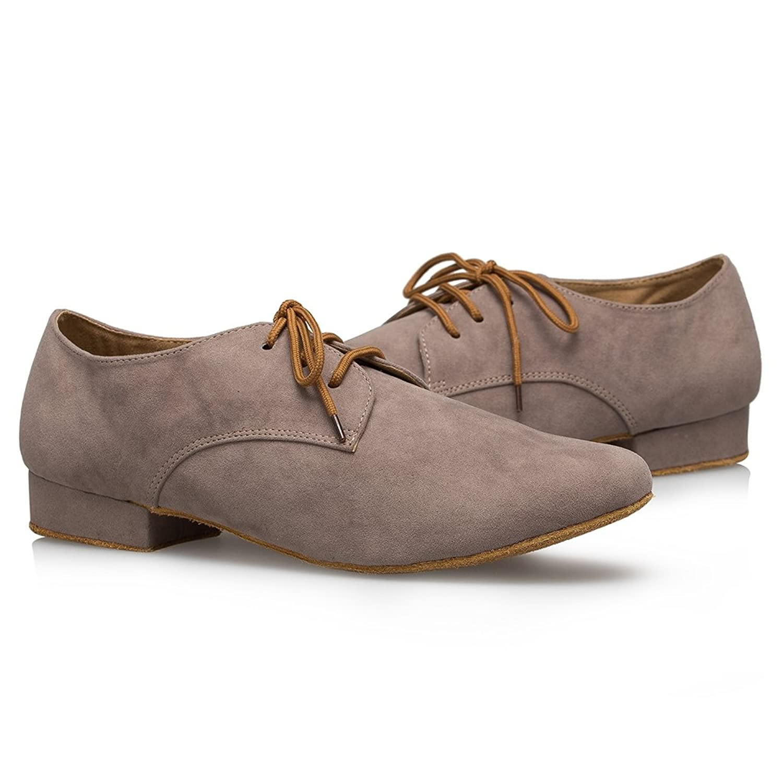 Minitoo Men's TH174 Fashion Suede Leather Wedding Ballroom Latin Taogo  Dance Shoes: Amazon.ca: Shoes & Handbags