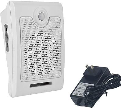 GE Magnetic Back Message Recorder /& LED Flashing Light Reminder W// Digital Clock