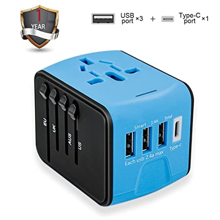 Review Travel Adapter, Universal International