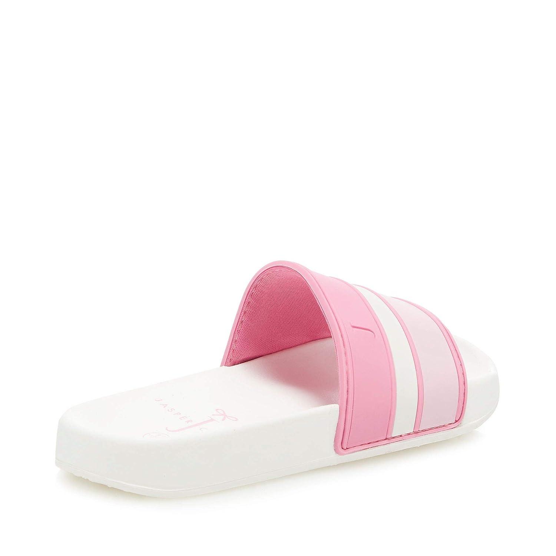 Debenhams J by Jasper Conran Kids Pink Striped Sliders
