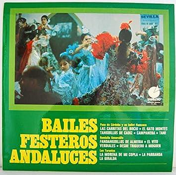 Bailes Festeros Andaluces. Paco de Córdoba, Rondalla Generalife, Los Tarantos: Varios: Amazon.es: Música
