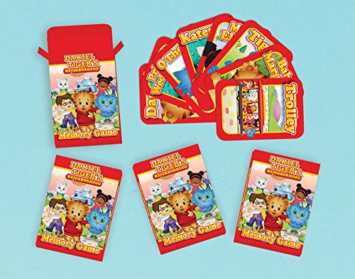 Memory Game | Daniel Tiger's Neighborhood® | Party Accessory -