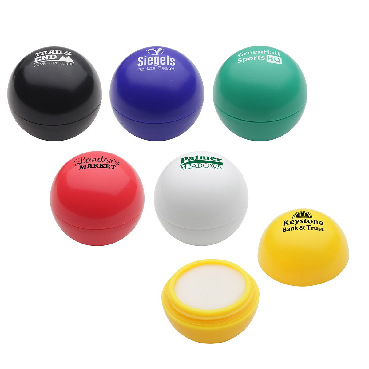 150 Personalized Well-Rounded Lip Balm With Your Company Logo or Message