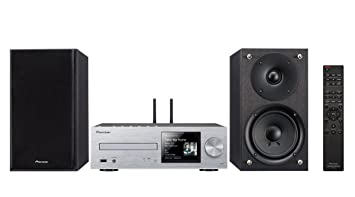 Pioneer X-HM76-S Color Plata - Sistema Hight Micro