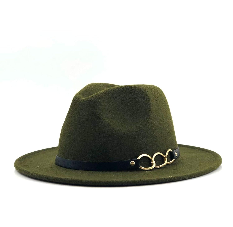 Wide Brim Autumn Female Fashion Top Jazz Cap Winter Fashion Wool Fedora Hat