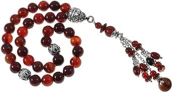 Eagal Prayer Rosary for Unisex, Multi Color - MS70053