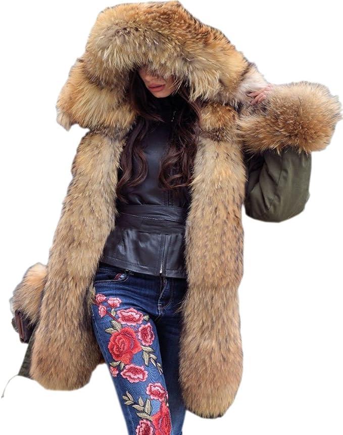 Roiii® - Sudadera con capucha - Parka - para mujer