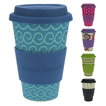 Ebos Glucksbringer Coffee To Go Becher Aus Bambus Kaffe Becher