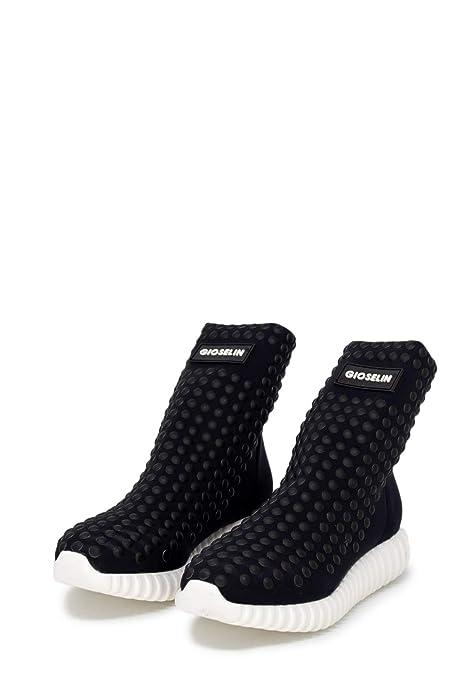 Gioselin Scarpe Donna Sneakers Borchie Light Studs Black  Amazon.it  Scarpe  e borse 8d1278bfc08