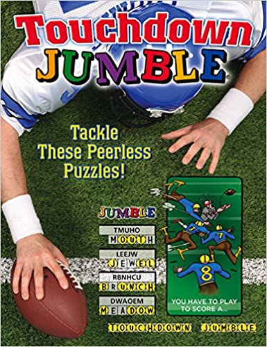 Book Touchdown Jumble: Tackle These Peerless Puzzles! (Jumbles174:)