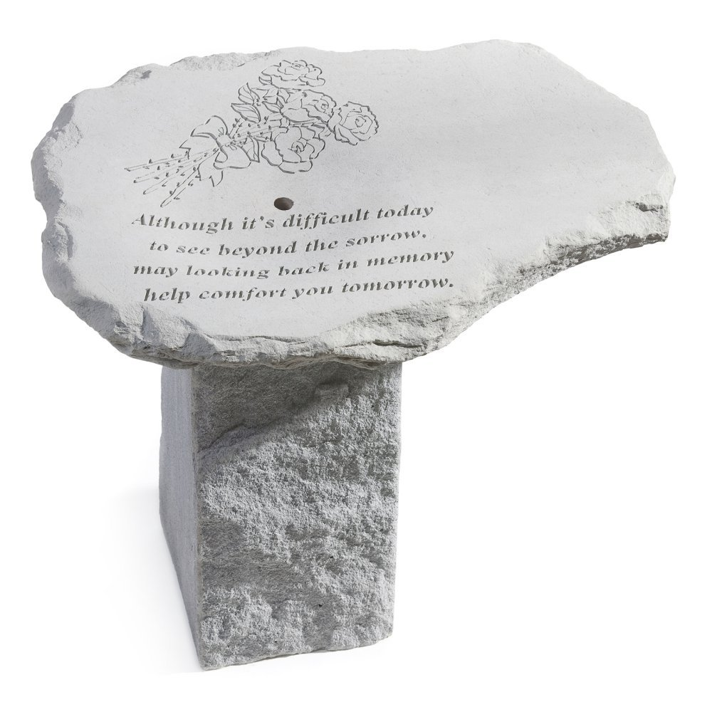 Kay Berry Memorial Pedestal Outdoor Fountain by Kay Berry Inc