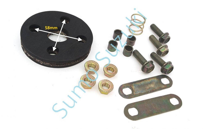 Kit de reparació n de juntas goma de la columna del eje de direcció n - 48251-52000 Multiparts