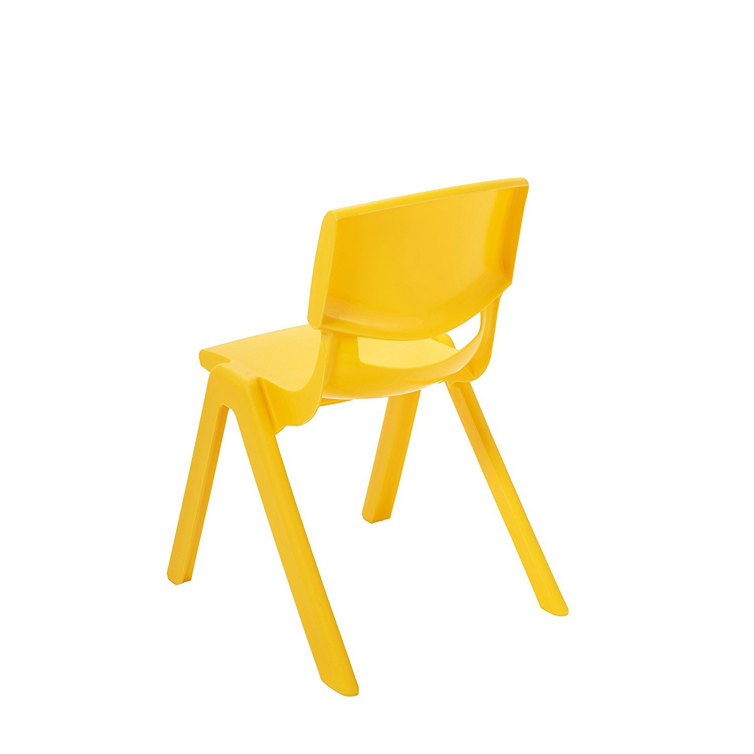 ECR4Kids 14 School Stack Resin Chair, Assorted Colors (6-Pack) ELR-15136-AS