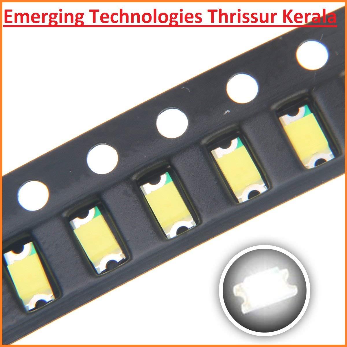 50PCS Super Bright Yellow SMD LED 1206 3.2mm×1.6mm NEW