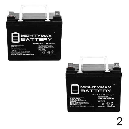 12V 35AH Replacement Battery for Trolling Motor Sevylor Minn Kota -  Battery Wiring Diagram Starter Trolling Motor on