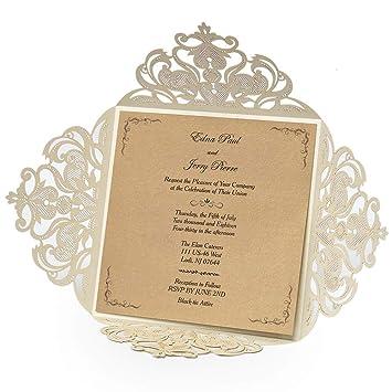 amazon com doris home square ivory laser cut lace flower pattern