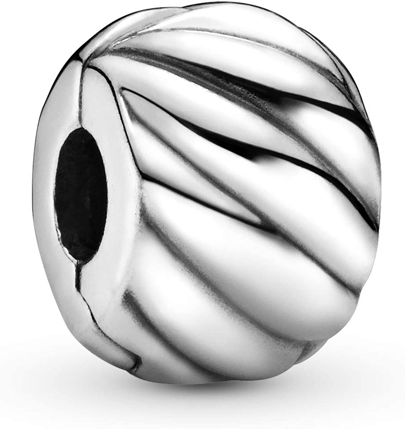 Pandora Jewelry Feathered Sterling Silver Charm