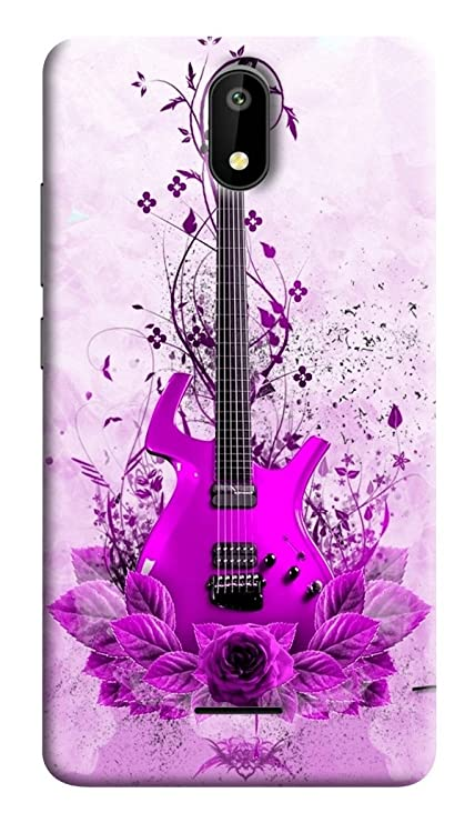 info for 4b4d2 bd09c RKMOBILES Printed Back Cover for Micromax Q409 Spark 4G 2017 (Purple)