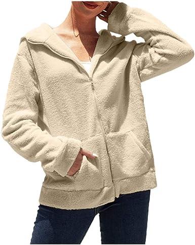 sweat zippé beige femme