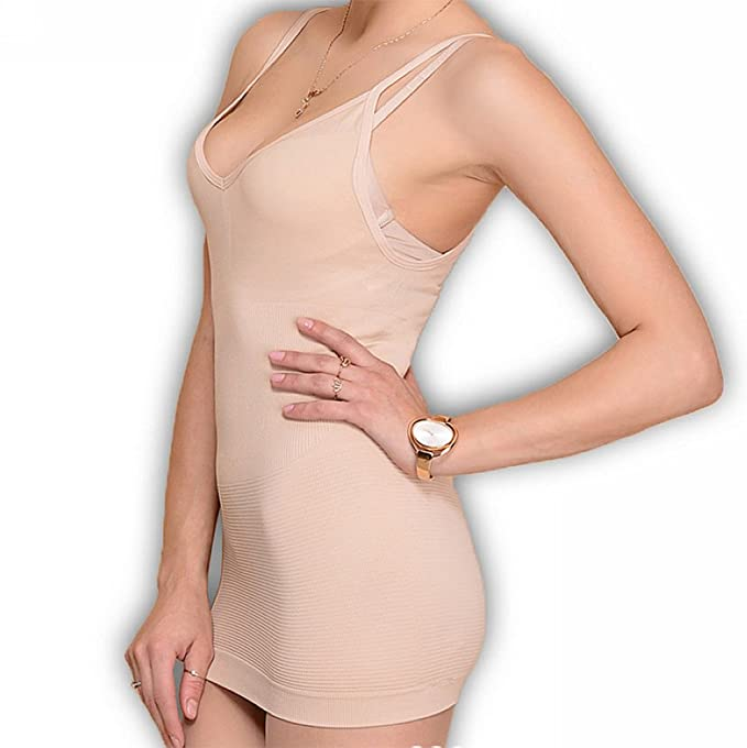 9fa41475dd Amazon.com  Pop Fashion Women s Shapewear Slimming Tank Top ...
