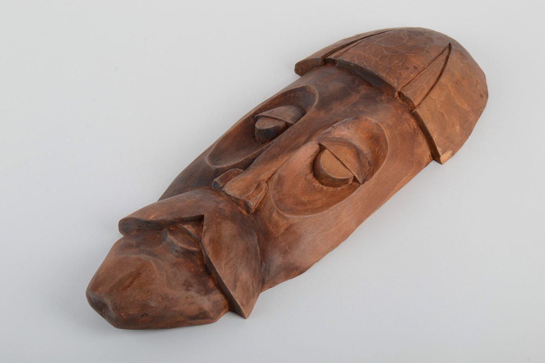 Mascara de madera artesanal colgante para pared de souvenir: Amazon.es: Hogar