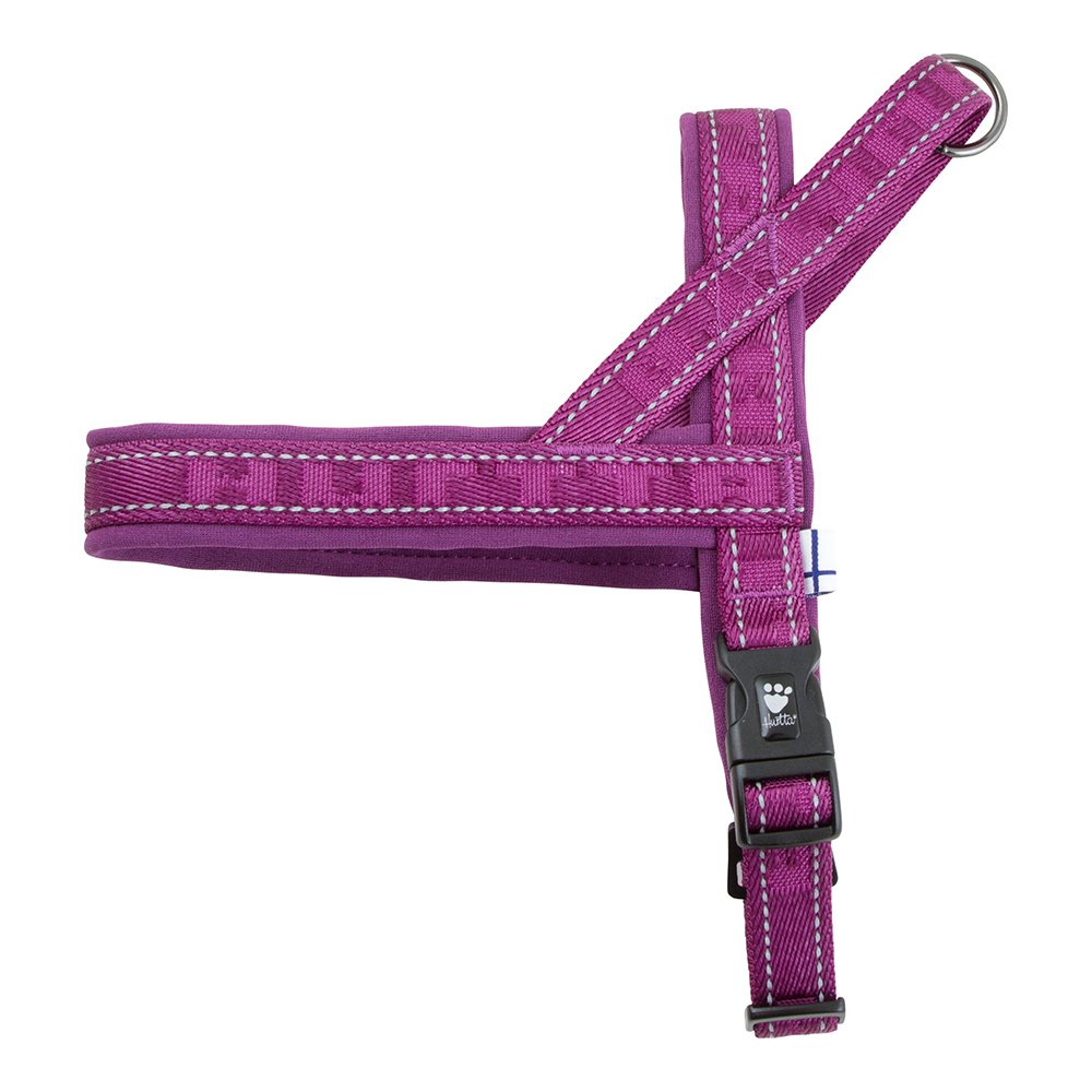 Heather 28-32\ Heather 28-32\ Hurtta Casual Padded Dog Harness, Heather, 32 in