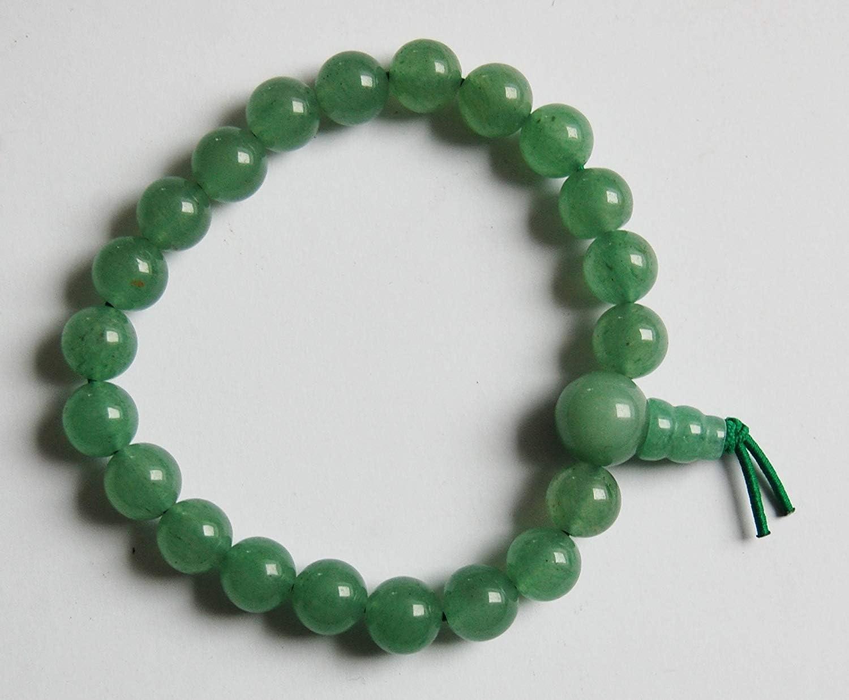 Unbekannt Piedras Preciosas de Fuerza de Pulsera, Aventurina Verde