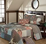 Greenland Home Fashions Stella Bedspread Set, Twin