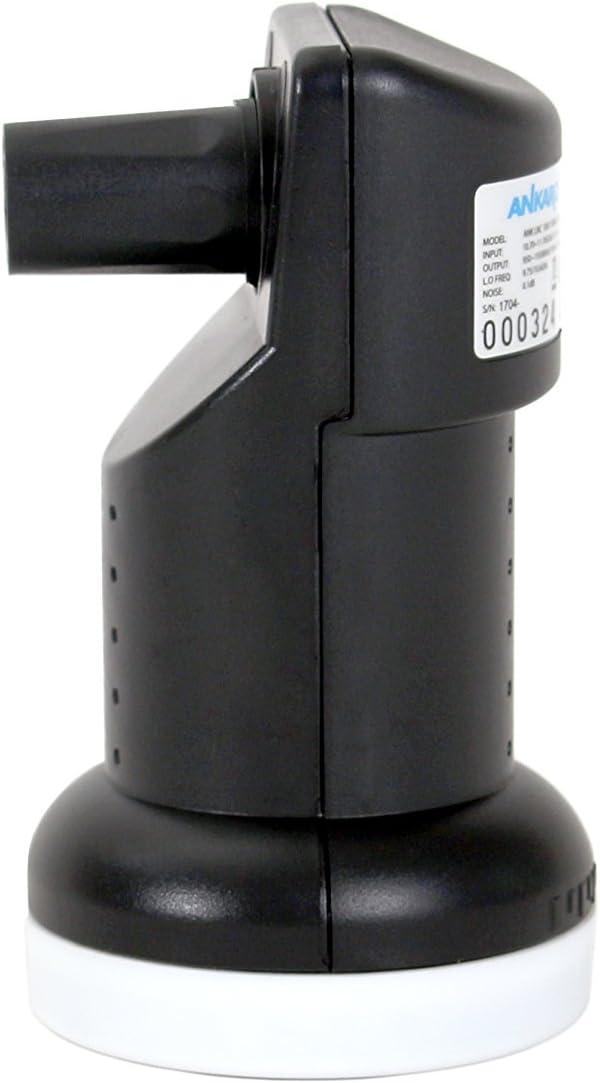 3D Ankaro LNC 4004 Quad Premium Premium mit ausziehbaren Wetterschutz 4K und UHD Ready LTE protectet