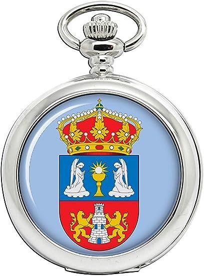 Lugo (España) Reloj Bolsillo Hunter Completo: Amazon.es: Relojes
