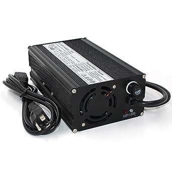 Amazon.com: 87,6 V 5 A cargador 76.8 V batería lifepo4 ...