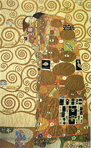 - Laminated 14x23 Poster: Cartoon for The Frieze of The Villa Stoclet in Brussels Fulfillment - Gustav Klimt