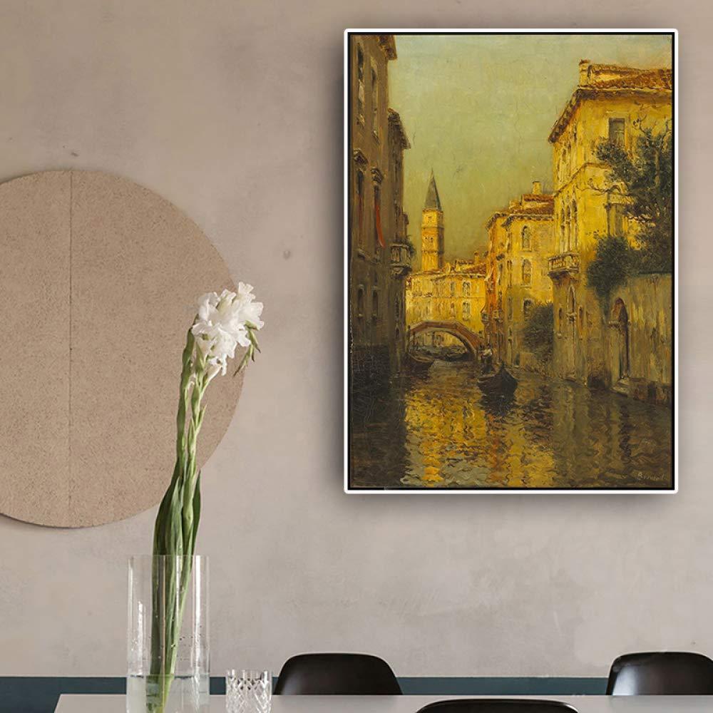 RTCKF Van Gogh cosechó Impresiones de Pintura al óleo de ...