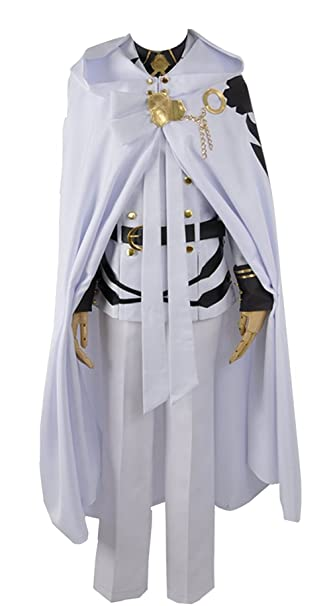 Seraph del Fin Mikaela Hyakuya Uniforme Militar Traje de ...