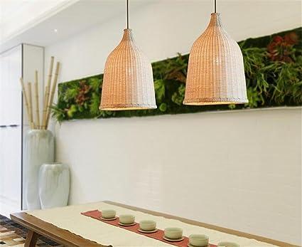 Plafoniere Vimini : Lucky clover a stile classico cinese mano reticolo di vimini