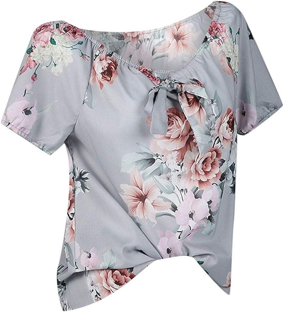UNSHOU Women Summer Flower...