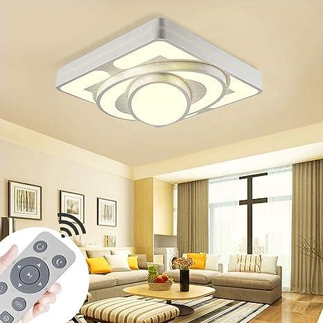 MYHOO 64W LED Moderno Lámpara De Techo Regulable Lámpara De Techo Pasillo Salón Cocina Dormitorio De La Lámpara Ahorro De Energía De Luz De