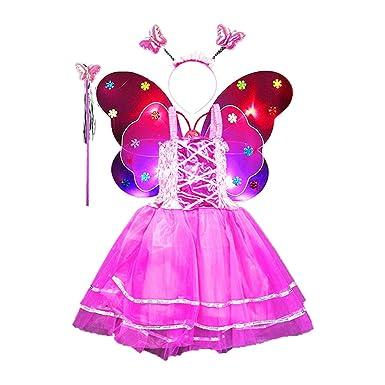 Amazon.com: Amosfun - Conjunto de disfraz de princesa de ...