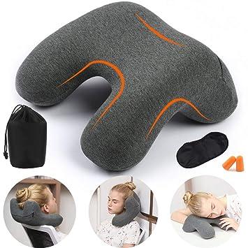 Amazon.com: HAOBAIMEI - Almohada profesional para siesta de ...