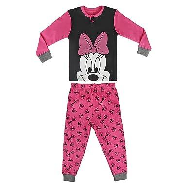 0ae0770a6d215 Minnie Mouse - Ensemble de Pyjama Fille Manches Longues Deux-Pièces (2-3